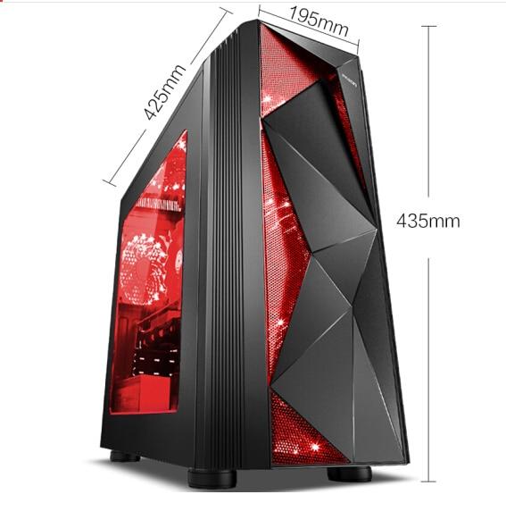 IPASON Desktop PC Intel i7 9700 GTX1650 4G 240G SSD 8G DDR4 RAM for Game PUBG Assembly Gaming desktop Computers 1