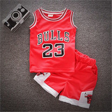 acaaff6410 Conjunto de 2 piezas de ropa deportiva de verano para niño, uniforme de  baloncesto para bebé, niños, niñas, conjunto de ropa