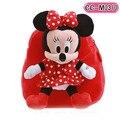 20I5 28 cm Mickey e Minnie de pelúcia mochila