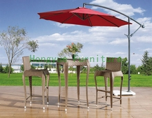 Outdoor bar furniture set without umbrella,patio bar sets