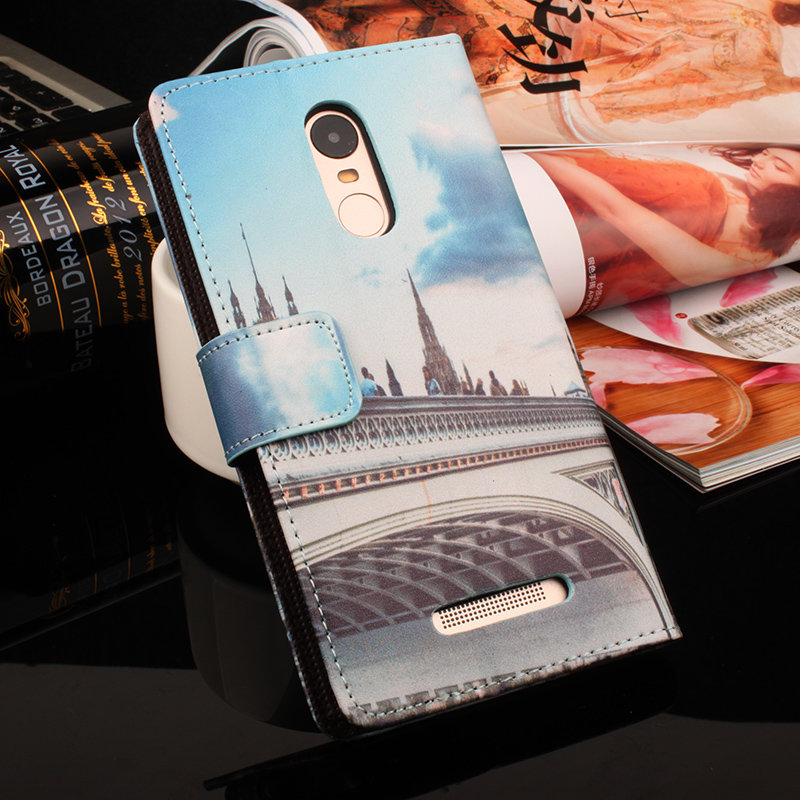 Flip läderfodral till Lenovo P1m A536 A606 A859 S60 S580 för Xiaomi - Reservdelar och tillbehör för mobiltelefoner - Foto 4