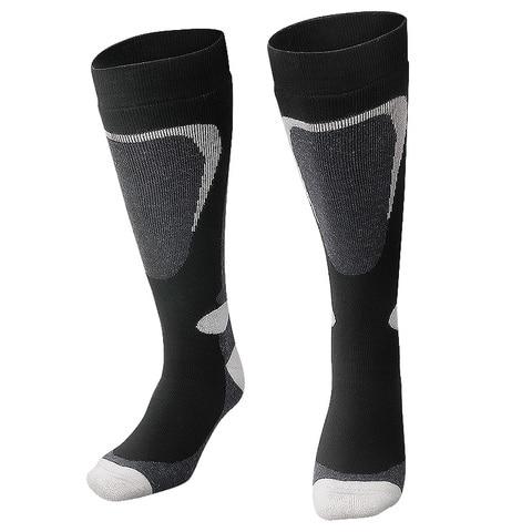 COPOZZ Brand Ski Socks Winter Snowboard Sport Socks Men & Women Thick Warm Cycling Socks Moisture Absorption High Elastic Socks Multan