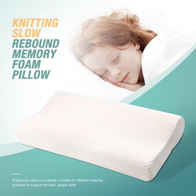 Orthopedic Neck Pillow Fiber Slow Rebound Health Care Memory Foam