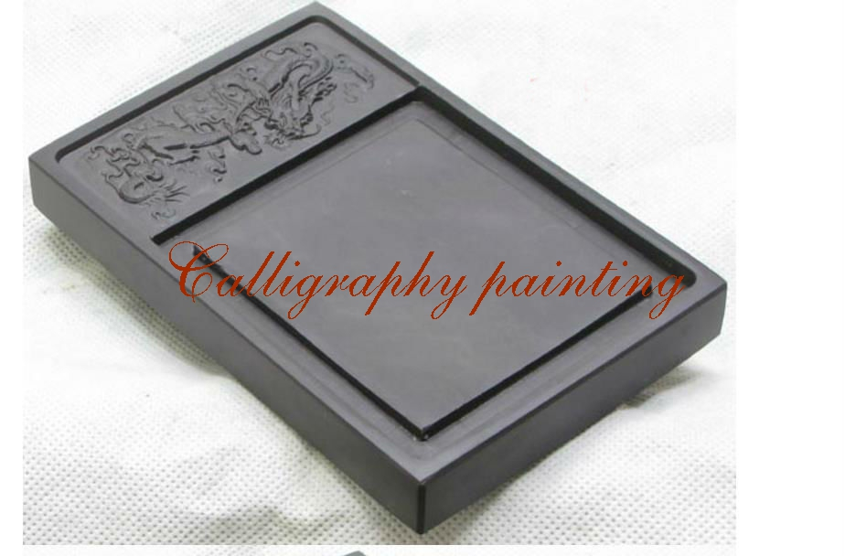 6 Inches Chinese Zhaoqing Carved Dragon Duan Yan Ink Stone 10793 10 inches chinese zhaoqing duan yan ink stone carved dragon inkstone calligraphy painting tool 12635