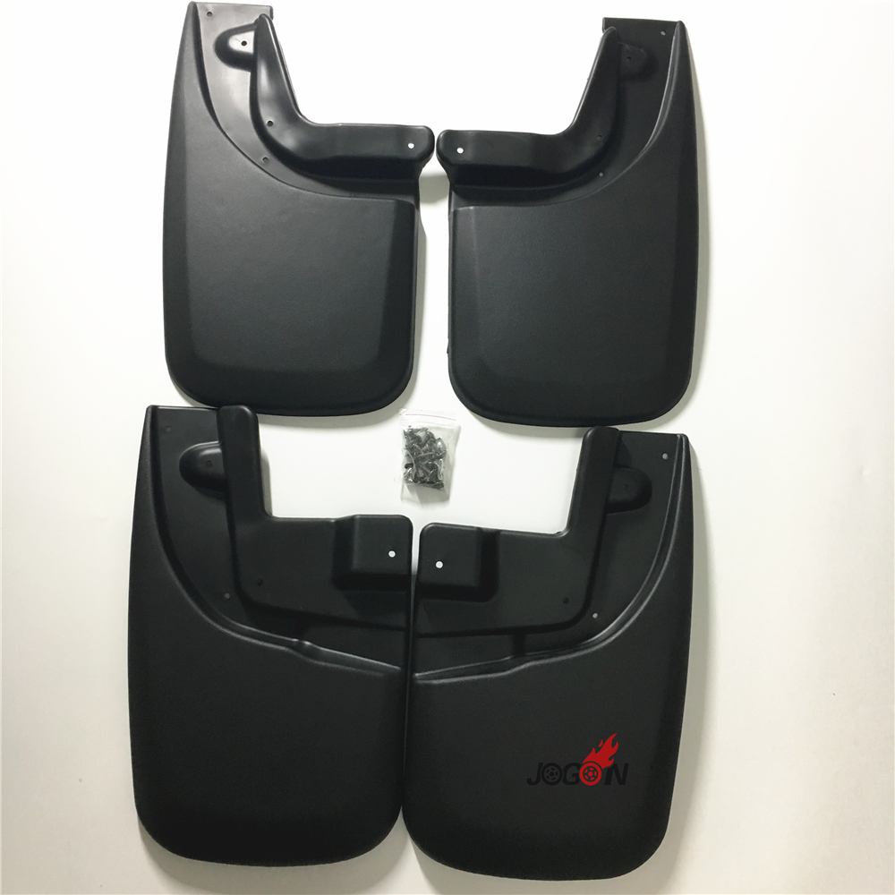4pcs Car Mudguards Front and Rear Splash Mud Flaps Fender For Toyota Tacoma 2005 - 2010 2011 2012 2013 2014 2015 стоимость