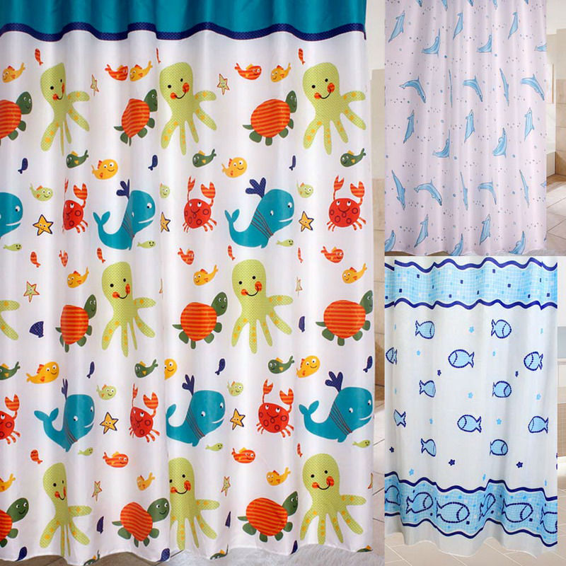 Online Buy Wholesale Cartoon Shower Curtain From China