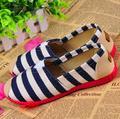 5 2017 весной новые Вулканизированные ботинки V рот широкий полосой женская обувь модная обувь на плоской подошве работы На Открытом Воздухе повседневная обувь
