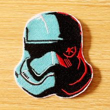 DIY Apparel Accessories Embroidered Patches For Clothing Star Wars Patch Iron on On Clothes Stripe Sew Military