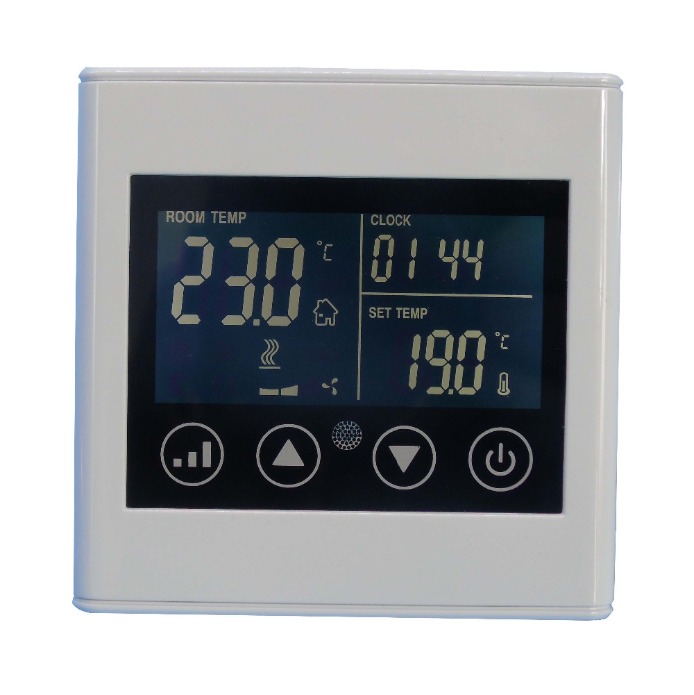 Digital adjustable room temperature controlled switch thermostat 110~240VAC with timing 7 24h programmable adjustable thermostat temperature control switch with child lock
