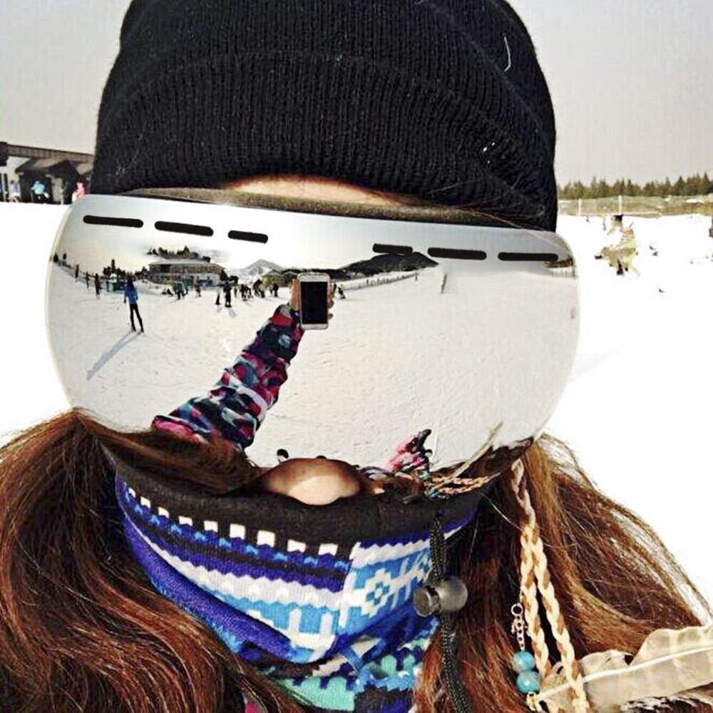 Hitorhike מרק skibril dubbele lagen UV400 נגד condens grote בריל skien mannen vrouwen sneeuw סנובורד משקפי סקי masker