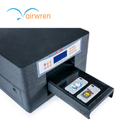 גודל הדפסת A4 מיני 6 מדפסת Uv שטוחה מכונת דפוס דיגיטלית|mini printer|printer minimini a4 printer -