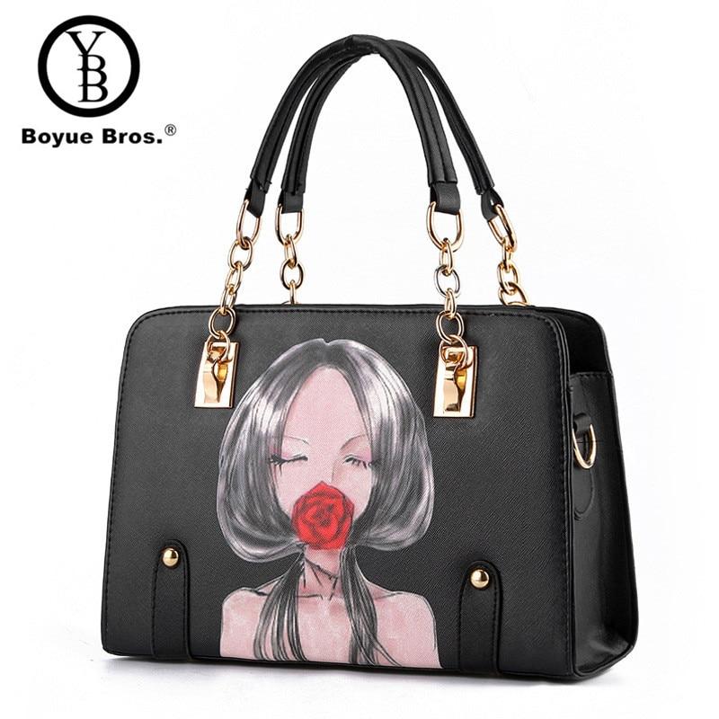 43c08b74b7b3 2015 Alligator Leather Women Handbag Bolsas De Couro Fashion Famous Brands  Shoulder Bag Black Bag Ladies Bolsas Femininas Sac-in Shoulder Bags from  Luggage ...