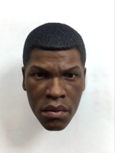 Finn John Boyega 1/6 Custom Head Sculpt IN STOCK For Hot Toys Phicen JIAOUL Dolls