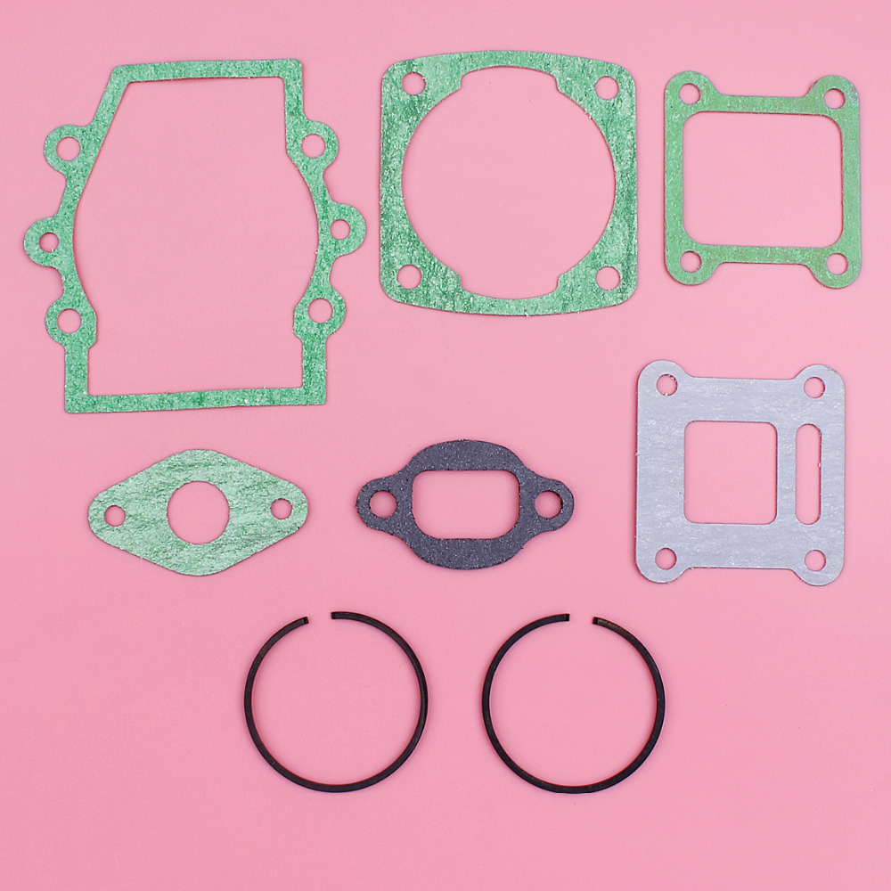 Full Gasket Set 40mm X 1.5mm Piston Rings Kit For Robin NB411 String Trimmer Brush Cutter Engine Spare Part