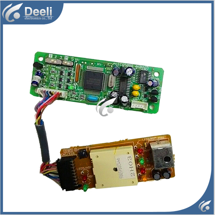 95% new good working for Air conditioner board Control board EC9506A receive head EC9541A SET new air conditioner universal board qd u10a refit universal board computer board control board