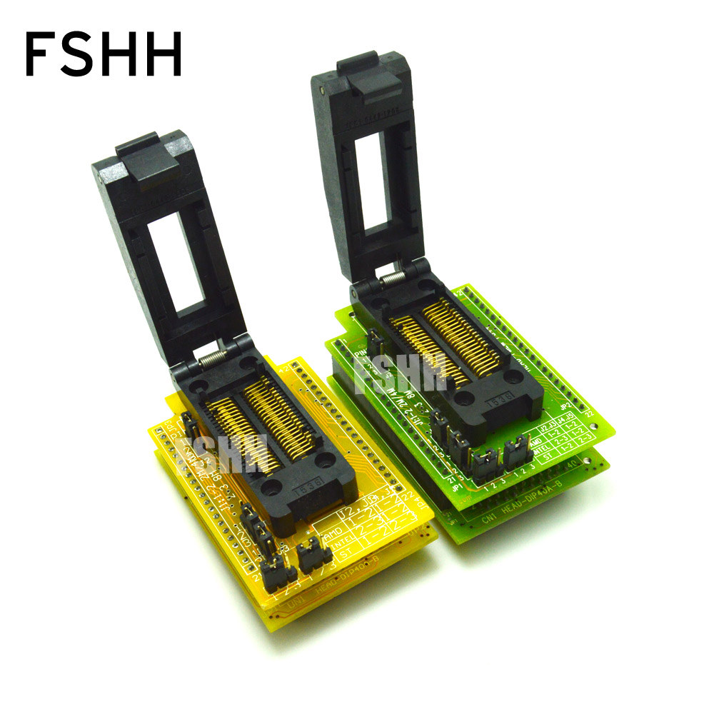 HEAD-FMEM-PS44 Programmer Adapter HI-LO GANG-08 Programmer Adapter PSOP44 SOP44/IC SOCKET(Flip test seat) free shipping sop32 wide body test seat ots 32 1 27 16 soic32 burn block programming block adapter