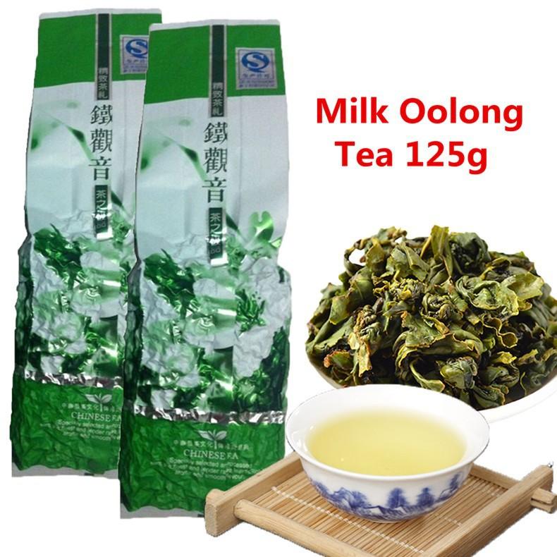 Wholesale jin xuan Milk Oolong Tea 125g High Quality Tiguanyin Green Tea Milk Oolong Health Care Milk Tea
