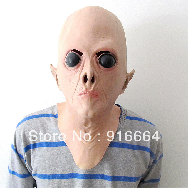latex alien mask monster mask for halloween and cosplay Alien Mask