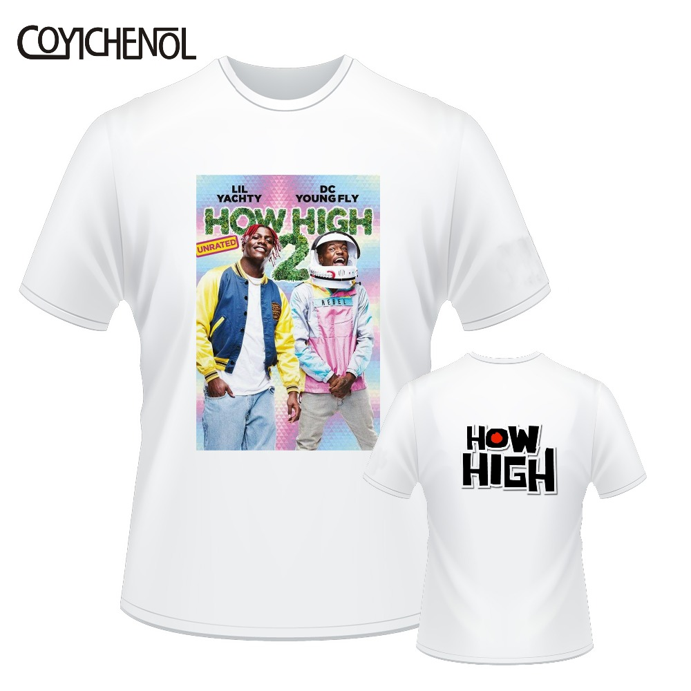 How High 2 customize print tshirt men o neck oversized regular tee 7XL casual short sleeves tops large size solid color top in T Shirts from Men 39 s Clothing