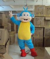 Mascot Costume Adult Character Costume mascot As fashion free shipping cosplay Blue monkey