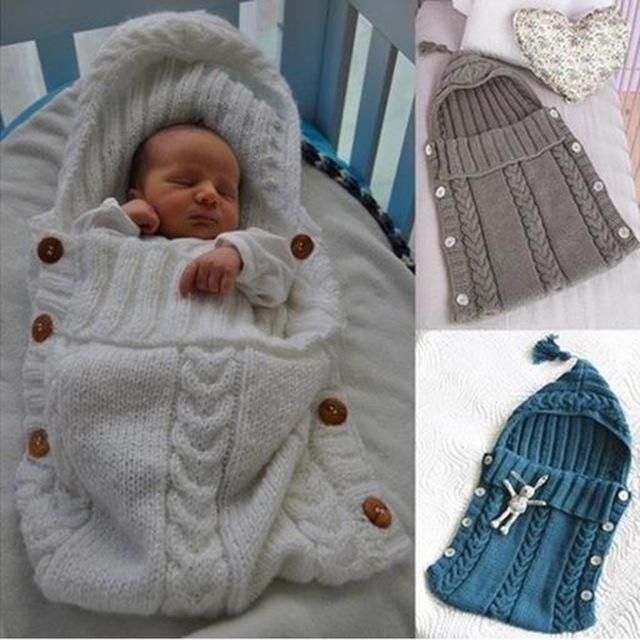 7-tipos de 41*32 CM Espesar Caliente Lindo Bebé Swaddle Abrigo Infantil Del Sobre Bolsa de Dormir Recién Nacido Manta Sleepsack B0001