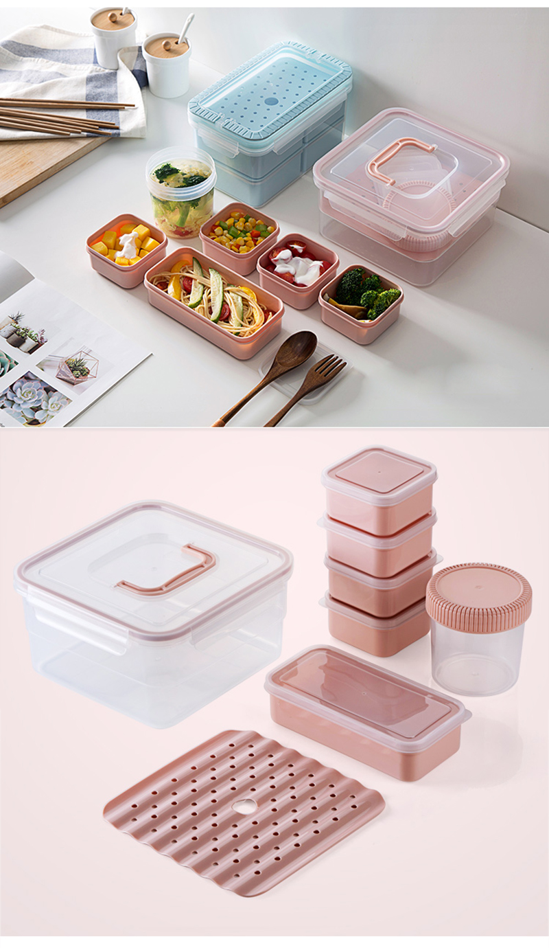 Microwave Lunch Box Set Portable