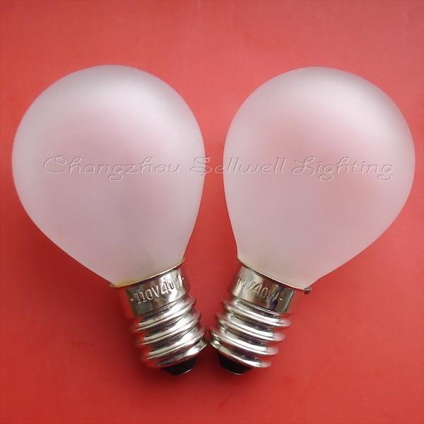 Miniaturní osvětlení 110 V 40 W E14 G35 A088 DOBRÁ 10ks