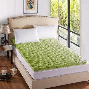 Image 4 - Matelas épais de massage, double ou simple, matelas à air en fibre de bambou, pour dortoir, camping, livraison gratuite
