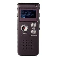 8 ГБ диктофон USB диктофон цифровой Аудио Диктофон с WMA/WAV/MP3/OGG Встроенный микрофон