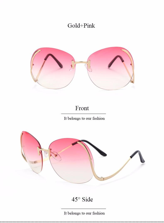Oversized Eyeglasses UV400 Optics 9