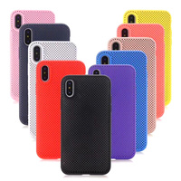 Case for iPhone 5 s SE Skin friendly Soft Liquid Silicone Case radiate heat cooling ultra thin back 6 6s 7 8 Plus X Luxury Cover