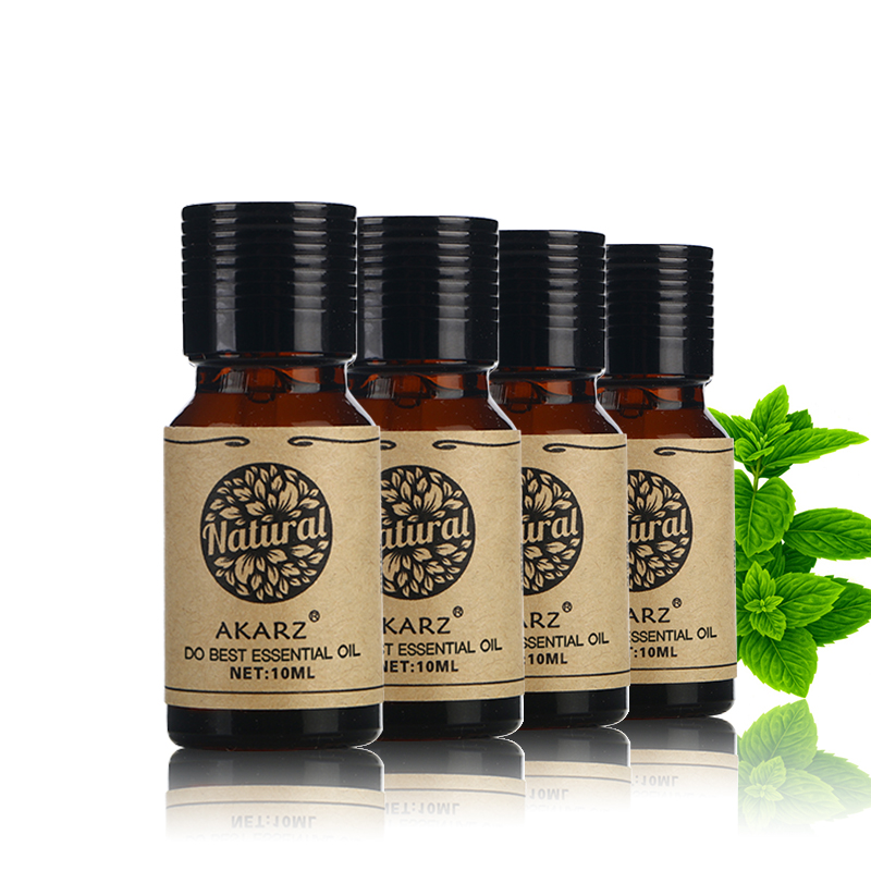 AKARZ Famous brand Lavender Rose Melissa Neroli essential oil Pack For Aromatherapy, Massage,Spa, Bath 10ml*4 meijuya aromatherapy essential oil lavender scent 10ml