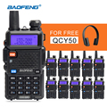 Walkie Talkie Baofeng UV-5R CB Radio Handy Radio Communicator Dual Band hf Transceiver In Moscow