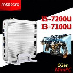 Fanless core i3 7100u i5 7200u mini pc desktop computer windows 10 tv box barebone system.jpg 250x250