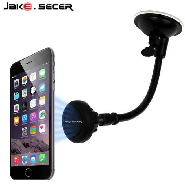 5622d0838544ba Magnetic Mobile Car Phone Holder Windshield 360 Universal Cell Phone Car  Holder Stand Magnet Dashboard for iPhone 6s 6 7 Plus SE
