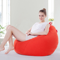 Creative Casual Lazy Sofa Solid Bed Fashion Beanbag Sofa Living Room Furniture Sofas Single Seat Bean
