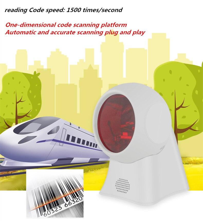 1 plate-forme de numérisation supermarché pharmacie caisse enregistreuse scanner fixe scanner automatique précision numérisation plug and play