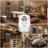 Ultrasonic Indoor Electronic Anti Mosquito Rat Mice Pest Bug Repeller EU US Plug K400Y