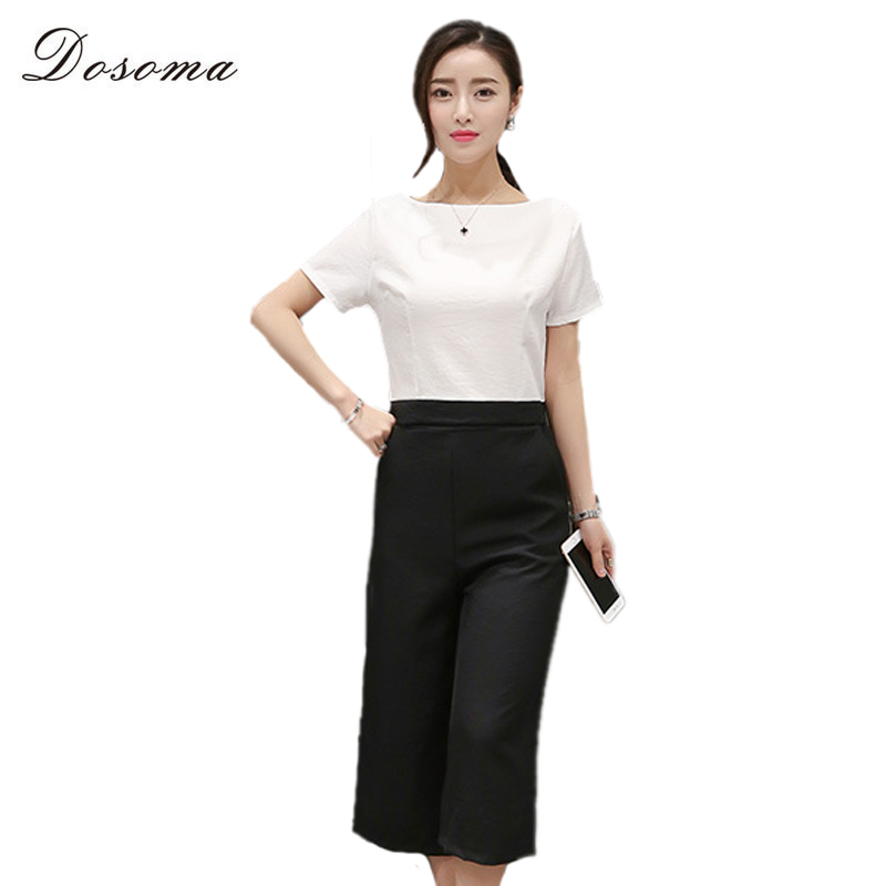 Aliexpress.com : Buy Dosoma Womens White Top T shirt And Loose ...