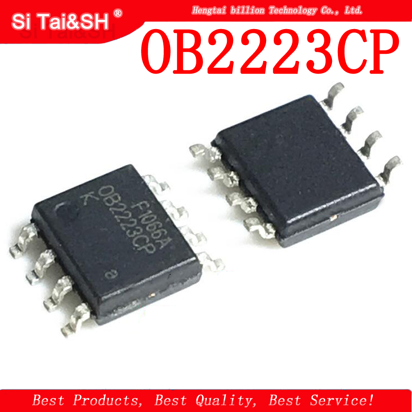 5pcs /lot <font><b>OB2223CP</b></font> OB2223 SOP-8 SMD 8-pin new original LCD power management IC chip image