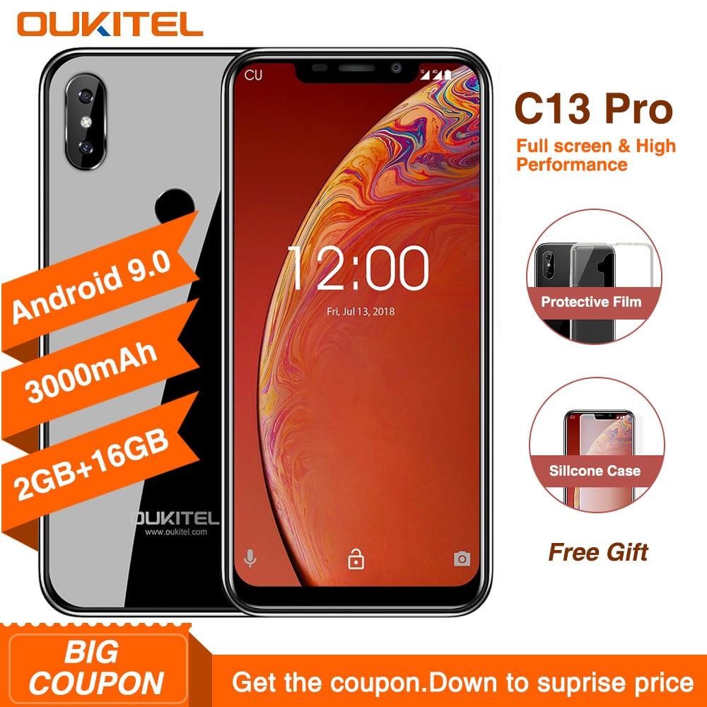 Купить OUKITEL C13 Pro 5G/2,4G WI-FI Android 9,0 MT6739 4 ядра 4G смартфон 6,18