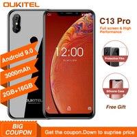 OUKITEL C13 Pro 5G/2,4G WI-FI Android 9,0 MT6739 4 ядра 4G смартфон 6,18