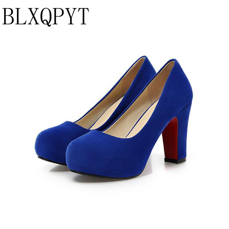 2017 Limited Zapatos Mujer Tacon Schoenen Big Size 34-43 Kleur Nieuwe lente Herfst vrouwen Pompen Vrouwen Schoenen Hoge hakken Pu A35-1