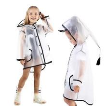 Зимняя одежда для малышей; Одежда для мальчиков и девочек; плащ-дождевик; прозрачная легкая дождевик; дождевик