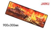 900x300x2 мм World of Tanks коврик для мыши игровой коврик для мыши геймер Коврик для мыши колодки компьютер HD узор padmouse ноутбука коврики для игры