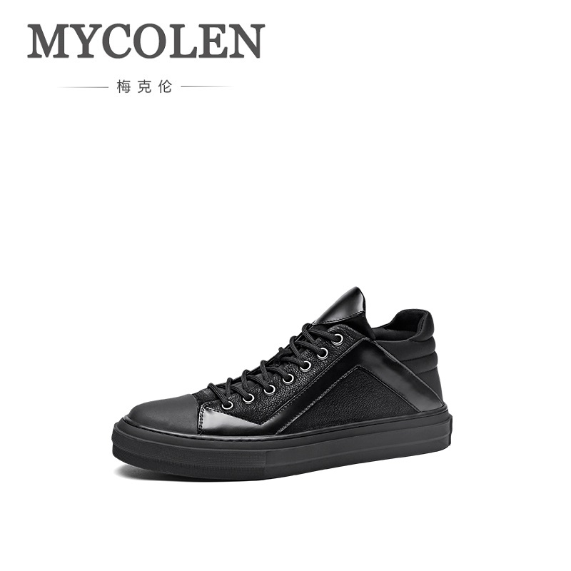 MYCOLEN Spring Summer Fashion Men Shoes Lace Up Breathable Ultralight Trainers Male Casual Sneakers Erkek Spor Ayakkabi