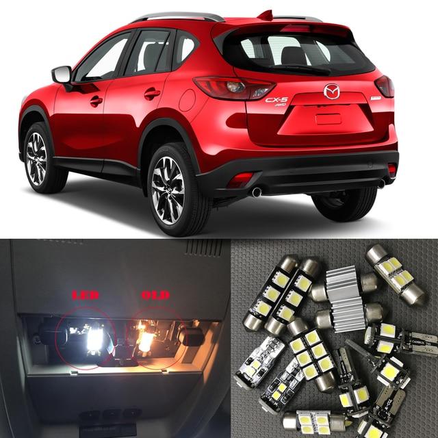 2014 Mazda Cx 5 Interior: 10pcs Auto Led Bulb For 2013 2014 2015 2016 2017 Mazda CX