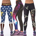 Skull Star Universe Printed Stylish Fitness Leggings Women Elastic Waist Stretchy Long Trousers for Women New Slim Sexy Pants