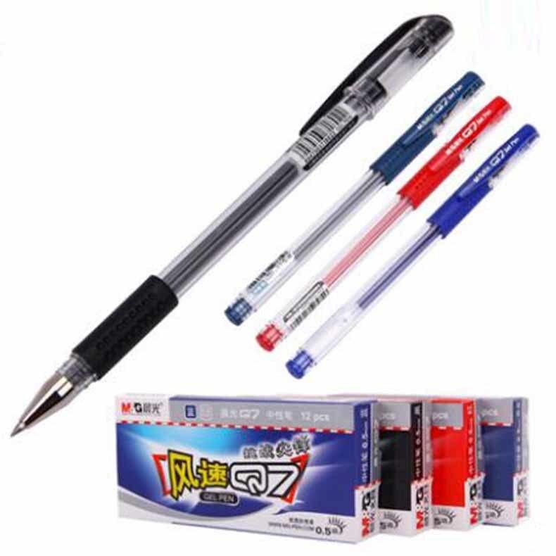 Correol los estudiantes de oficina neutral a base de agua 0.5mm rojo y negro papelaria kawaii stabilo caneta/B371140 los majos de cadiz tomo 17