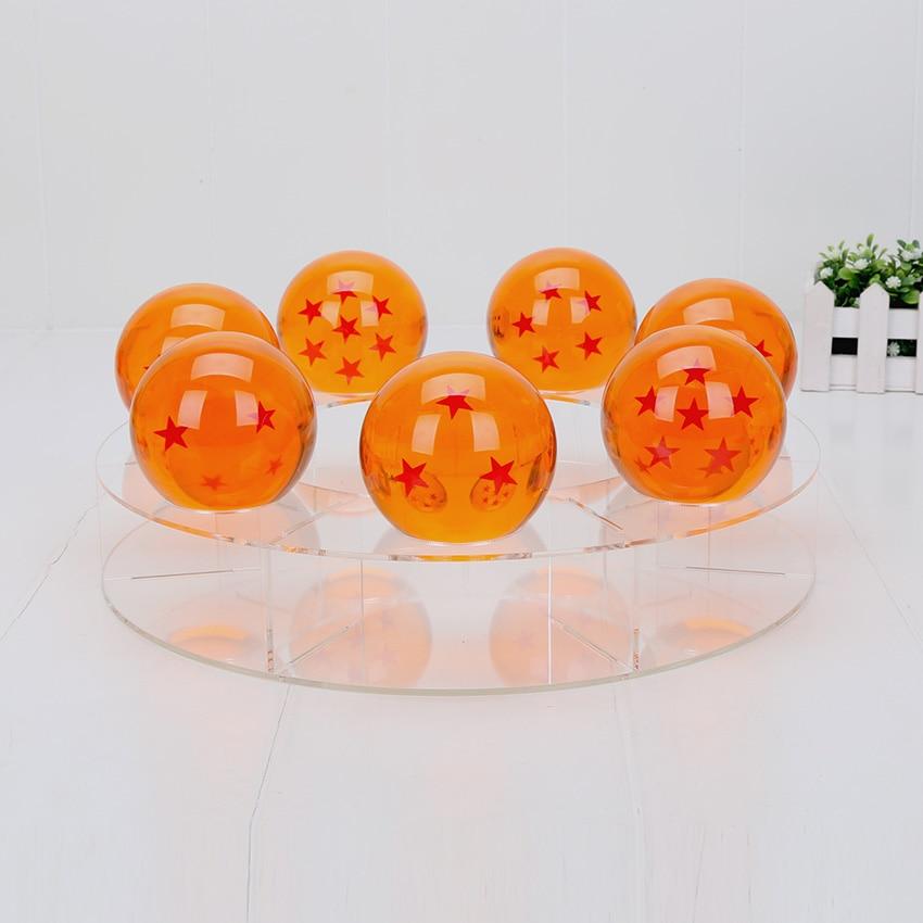 Dragon Ball présentoir pour 7 cm boules de cristal support Dragon Ball z figure jouet